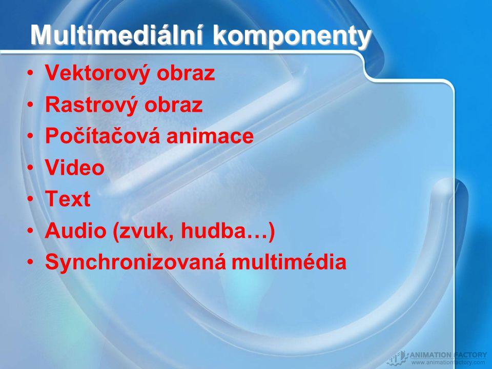 Multimediální komponenty