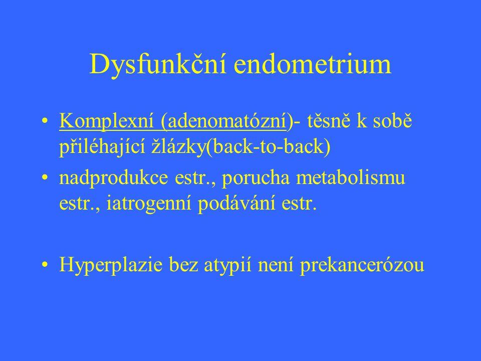Dysfunkční endometrium