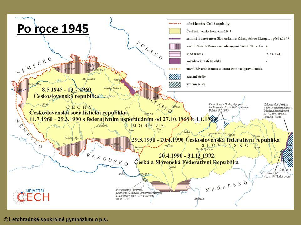 Po roce 1945