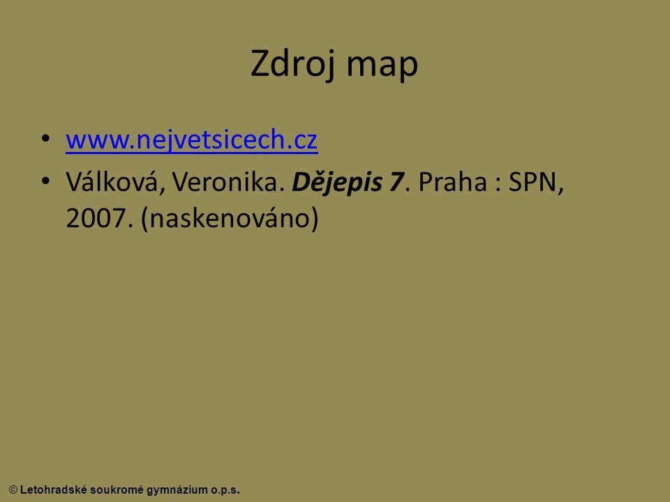 Zdroj map www.nejvetsicech.cz