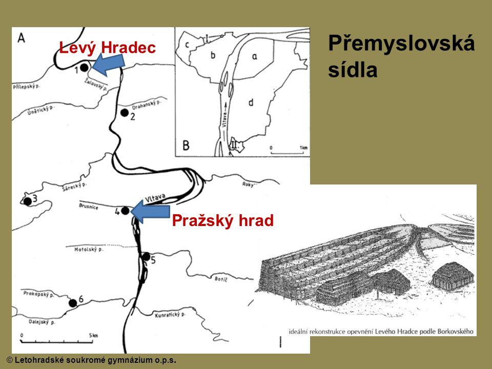 Přemyslovská sídla Levý Hradec Pražský hrad