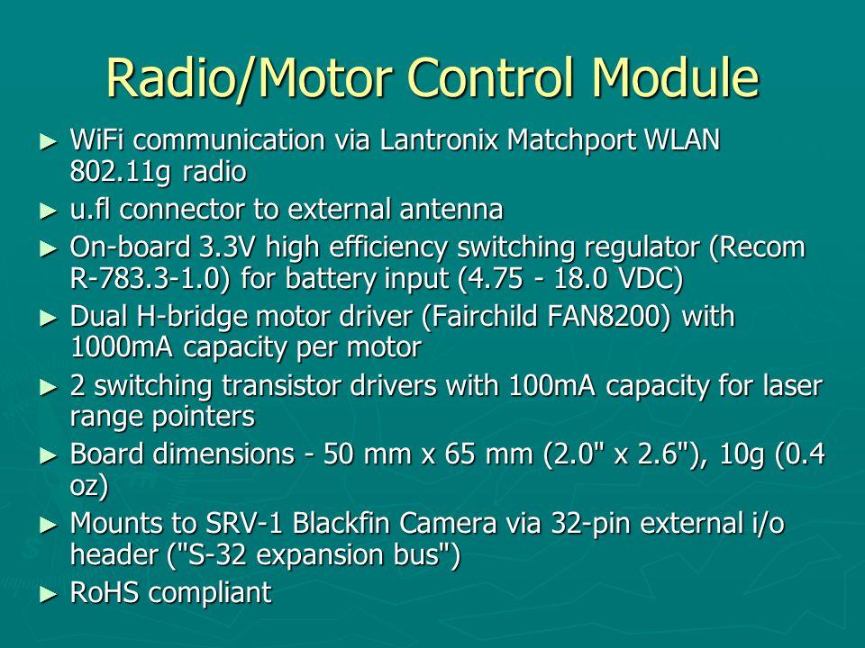 Radio/Motor Control Module