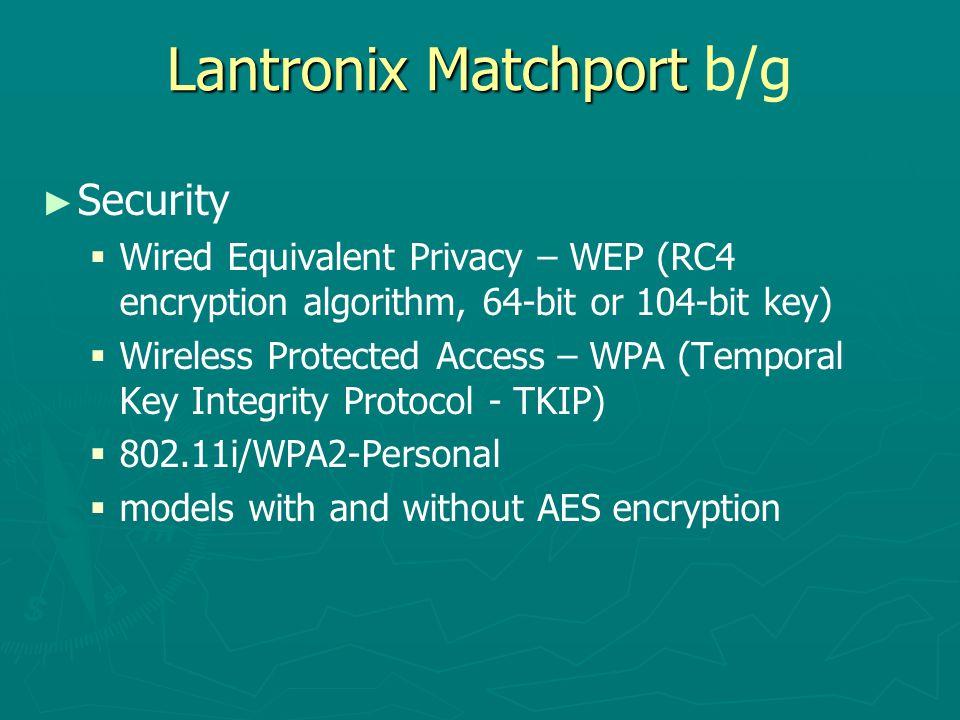 Lantronix Matchport b/g