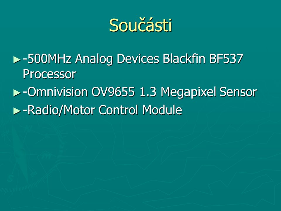 Součásti -500MHz Analog Devices Blackfin BF537 Processor