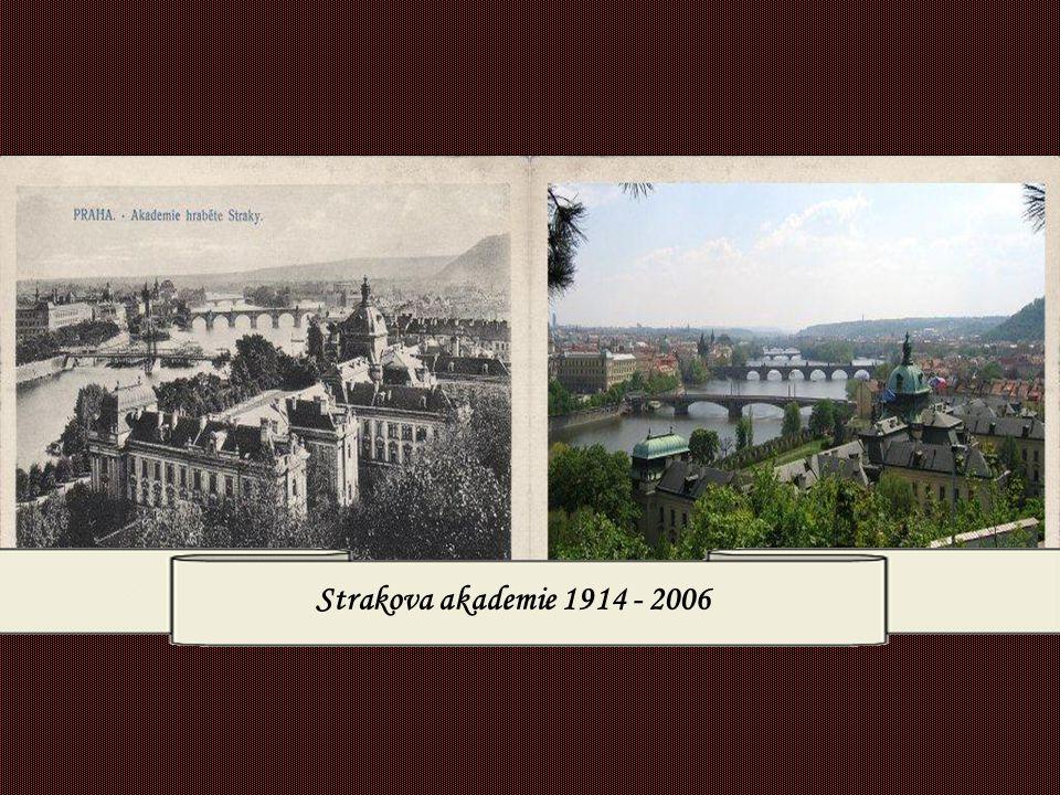 Strakova akademie 1914 - 2006