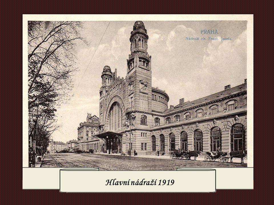 Hlavní nádraží 1919