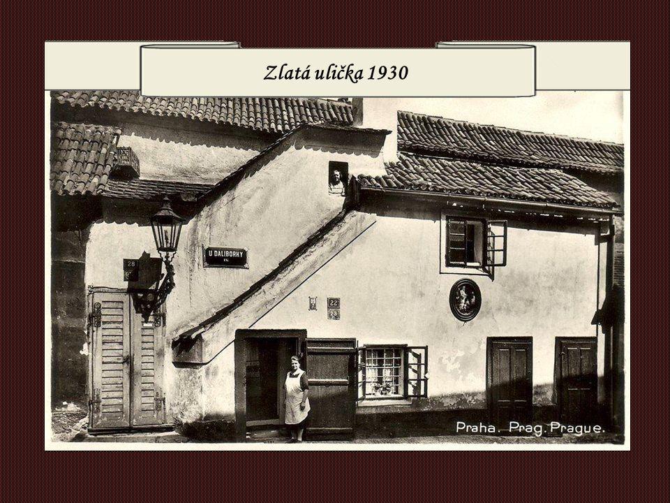 Zlatá ulička 1930
