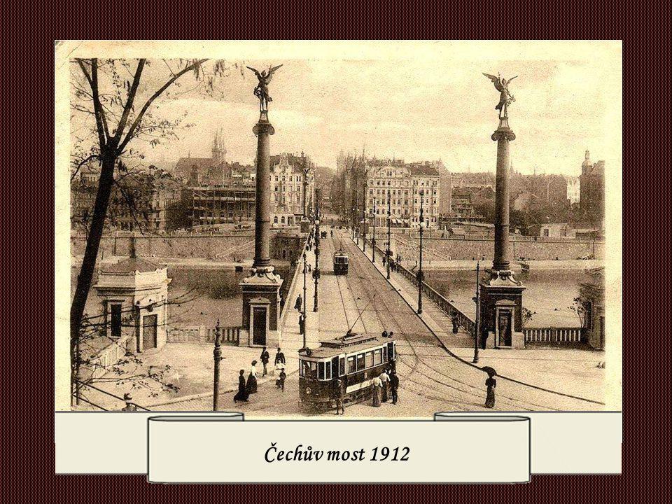 Čechův most 1912