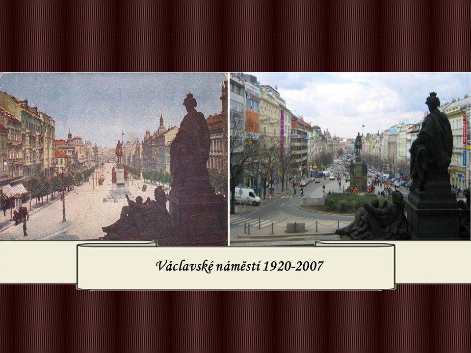 Václavské náměstí 1920-2007