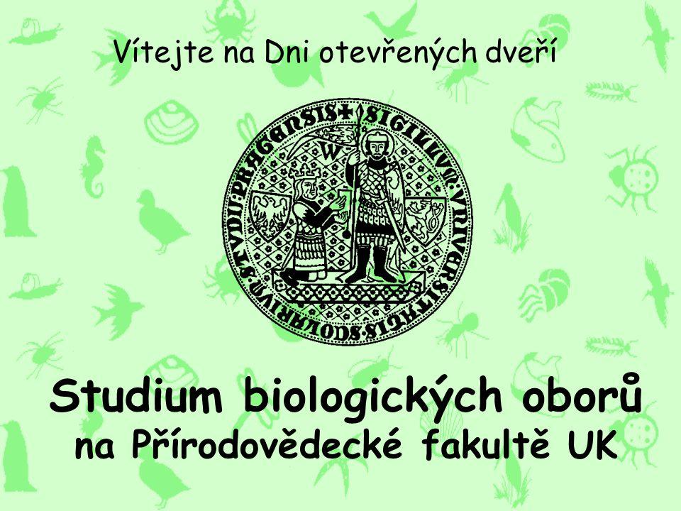 Studium biologických oborů na Přírodovědecké fakultě UK