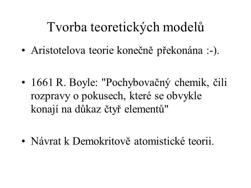 Tvorba teoretických modelů