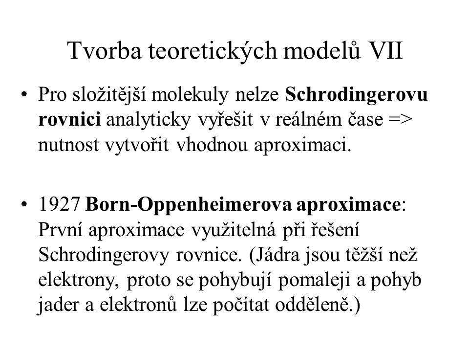 Tvorba teoretických modelů VII