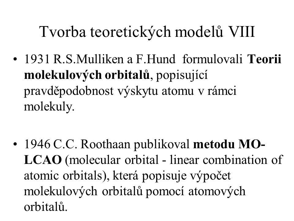 Tvorba teoretických modelů VIII