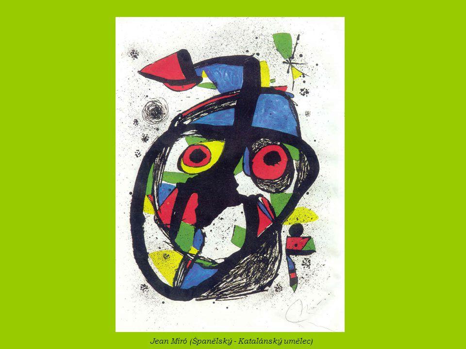 Jean Miró (Španělský - Katalánský umělec)
