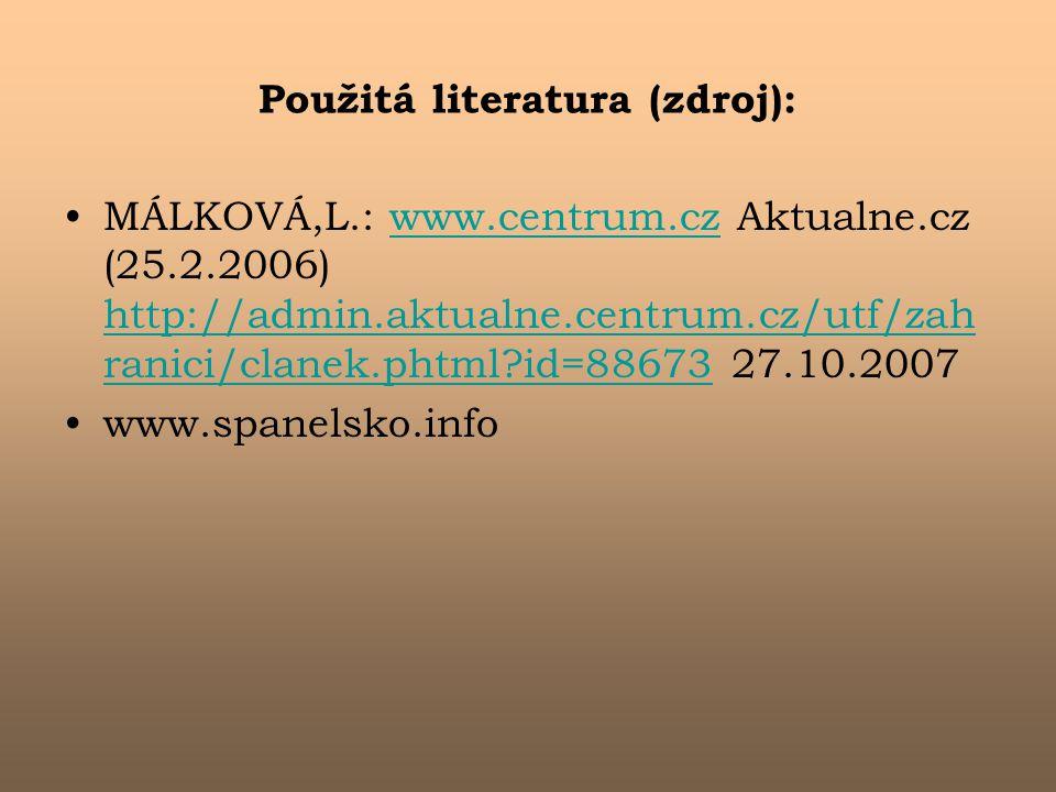 Použitá literatura (zdroj):