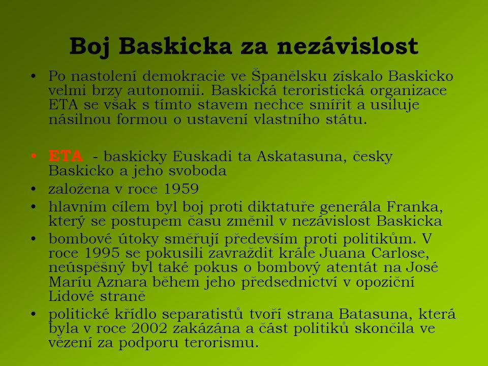 Boj Baskicka za nezávislost