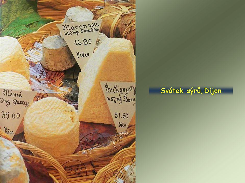 Svátek sýrů, Dijon