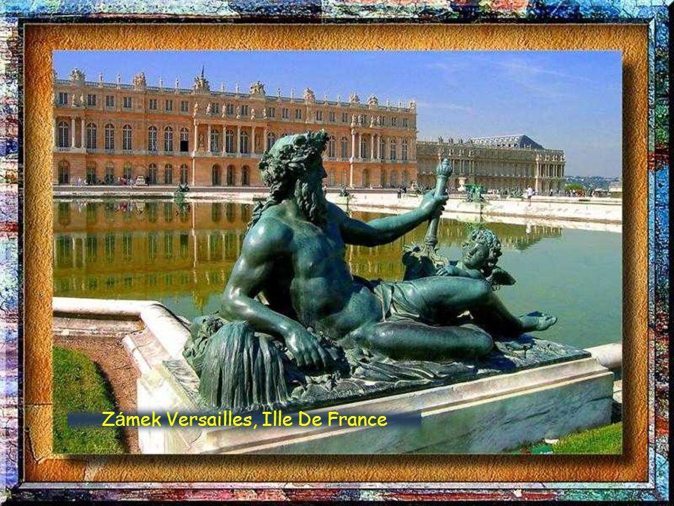 Zámek Versailles, Ille De France
