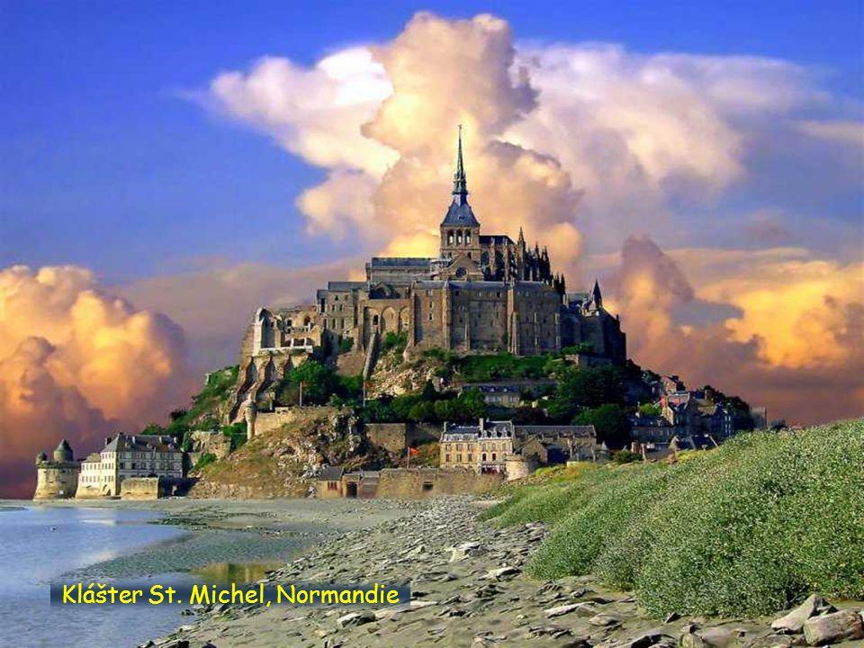Klášter St. Michel, Normandie