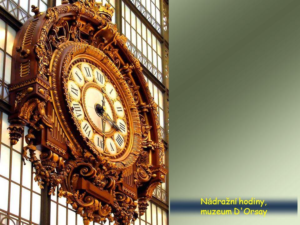 Nádražní hodiny, muzeum D Orsay