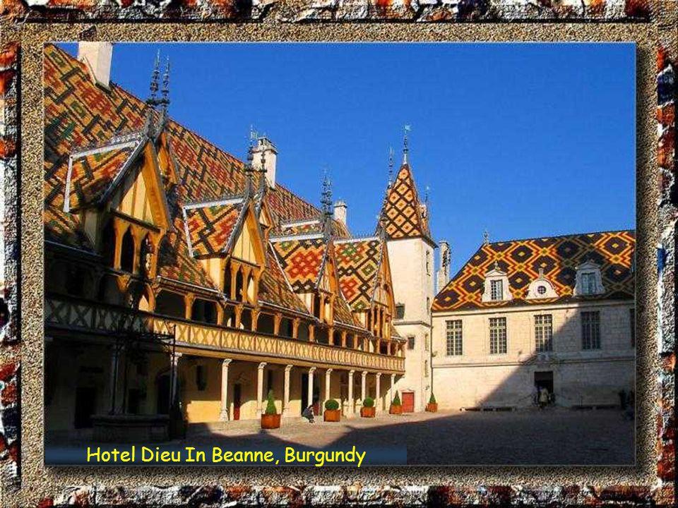 Hotel Dieu In Beanne, Burgundy