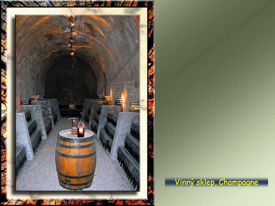 Vinný sklep, Champagne