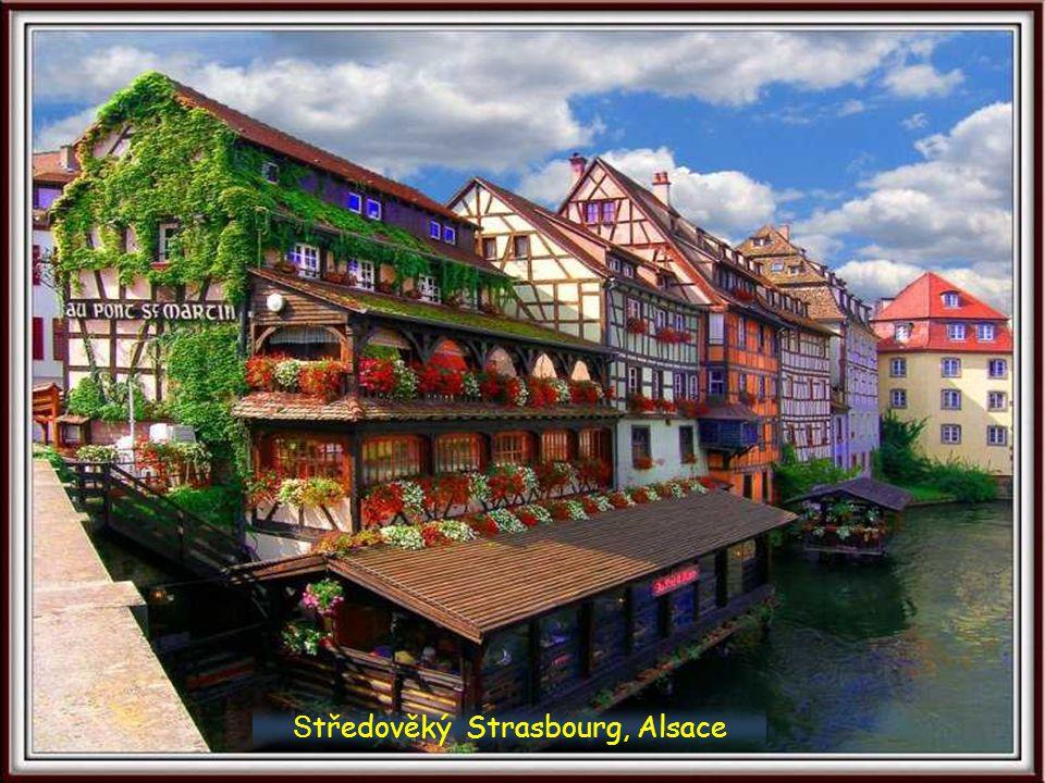 Středověký Strasbourg, Alsace