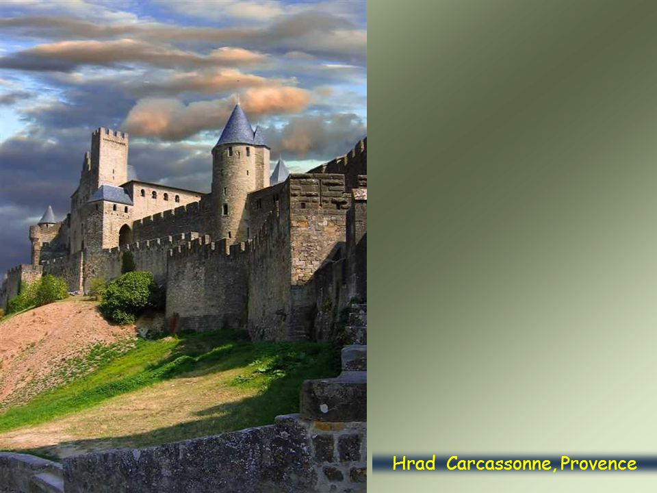 Hrad Carcassonne, Provence