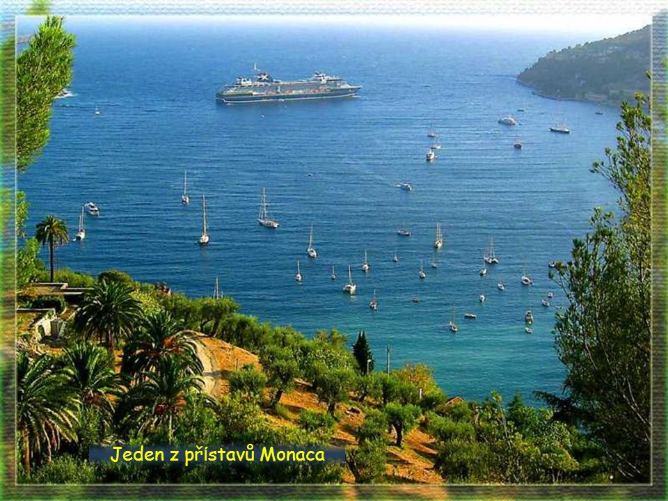 Jeden z přístavů Monaca