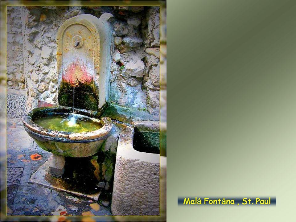 Malá Fontána , St. Paul