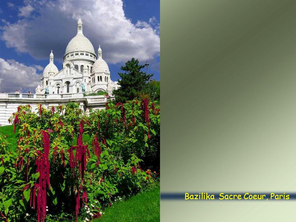 Bazilika Sacre Coeur, Paris