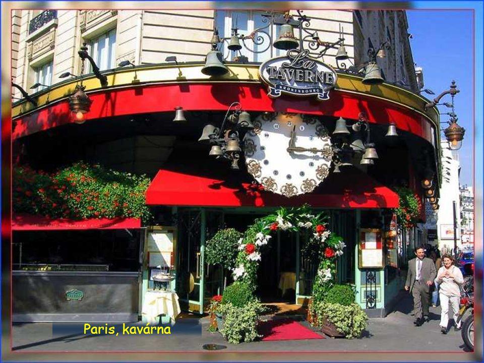 Paris, kavárna