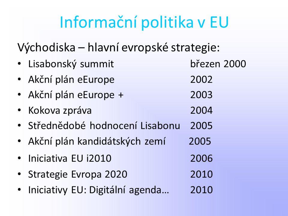 Informační politika v EU