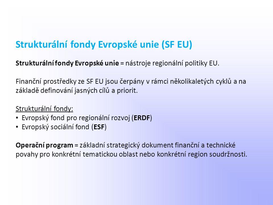 Strukturální fondy Evropské unie (SF EU)