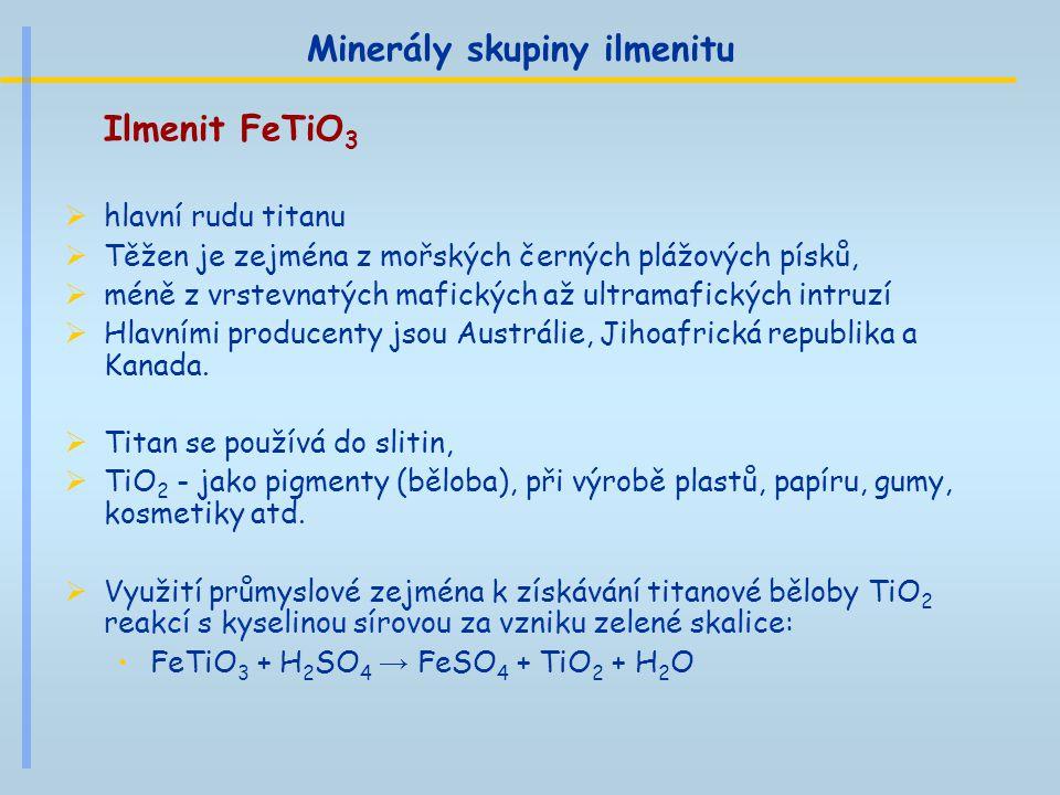 Minerály skupiny ilmenitu