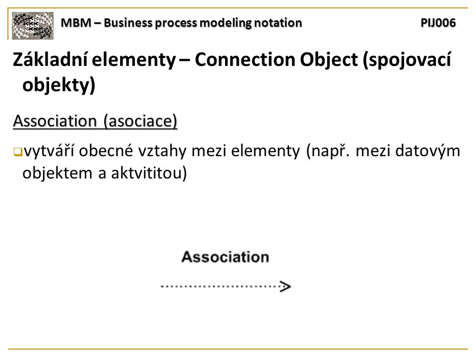 MBM – Business process modeling notation PIJ006