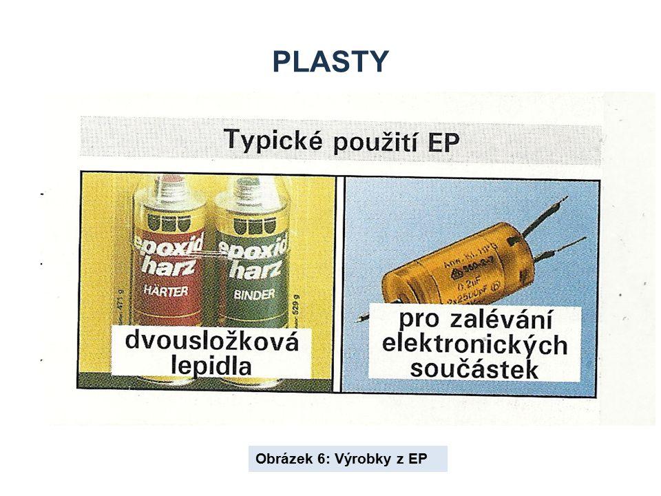 Plasty Obrázek 6: Výrobky z EP