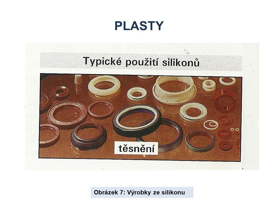 Plasty Obrázek 7: Výrobky ze silikonu
