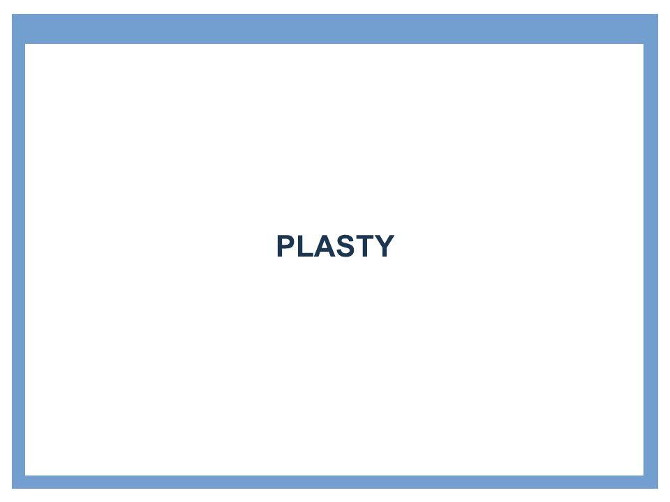 Zdroje Plasty Příklad: Stránka pro uvedení dílčích témat