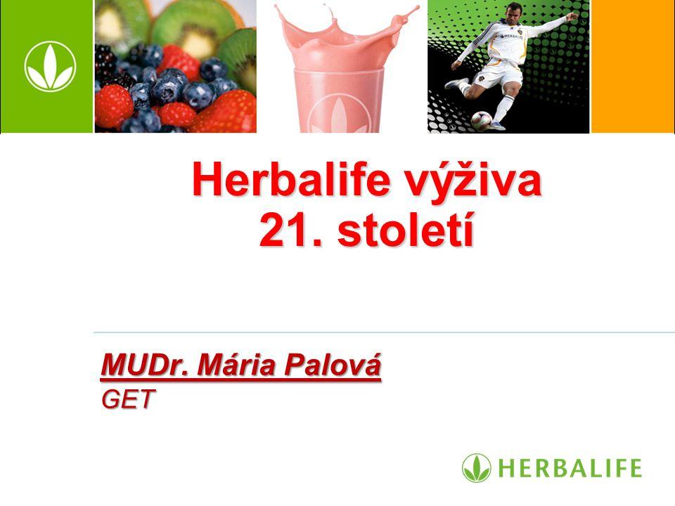 Herbalife výživa 21. století