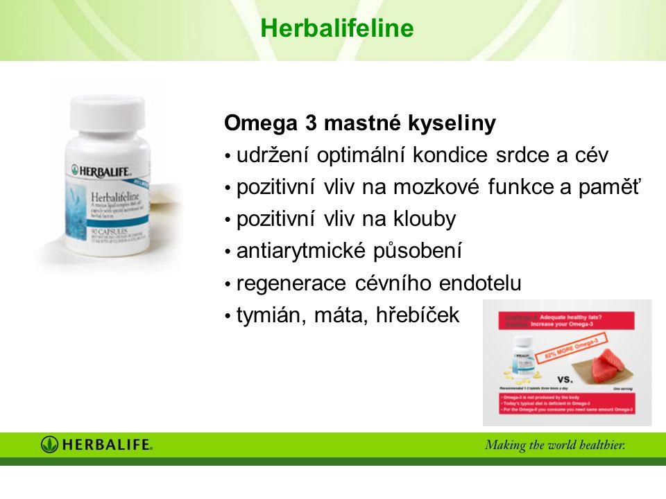 Herbalifeline Omega 3 mastné kyseliny