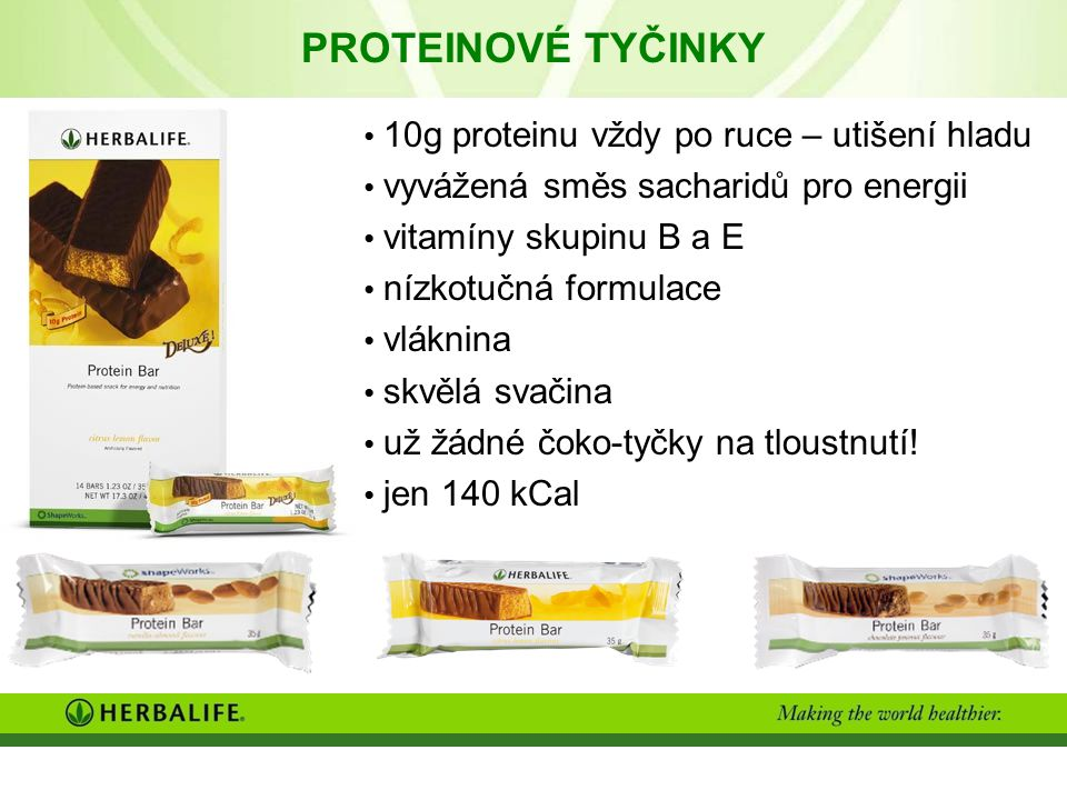 PROTEINOVÉ TYČINKY 10g proteinu vždy po ruce – utišení hladu