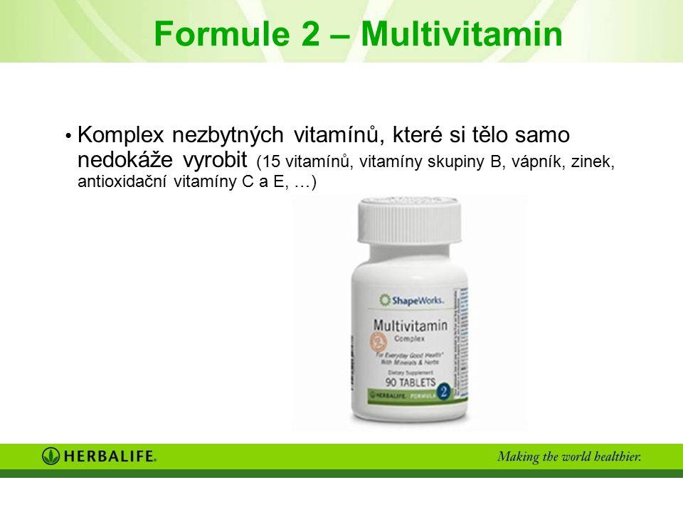 Formule 2 – Multivitamin