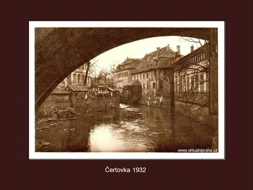 Čertovka 1932