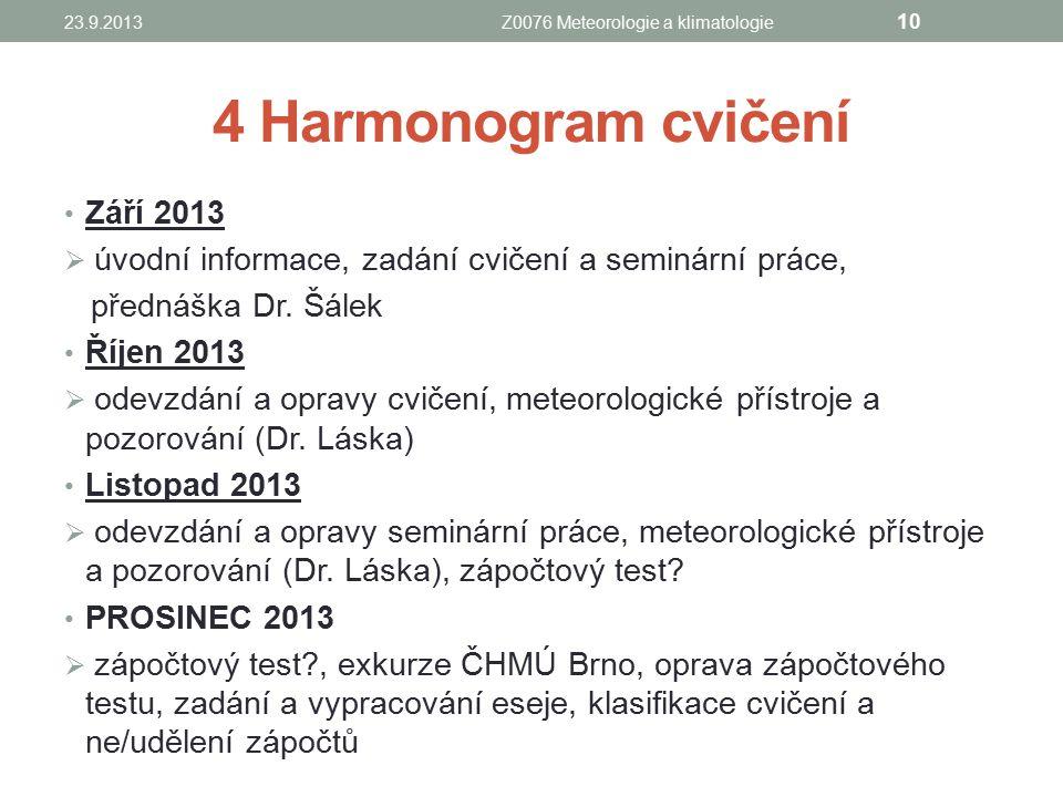 Z0076 Meteorologie a klimatologie