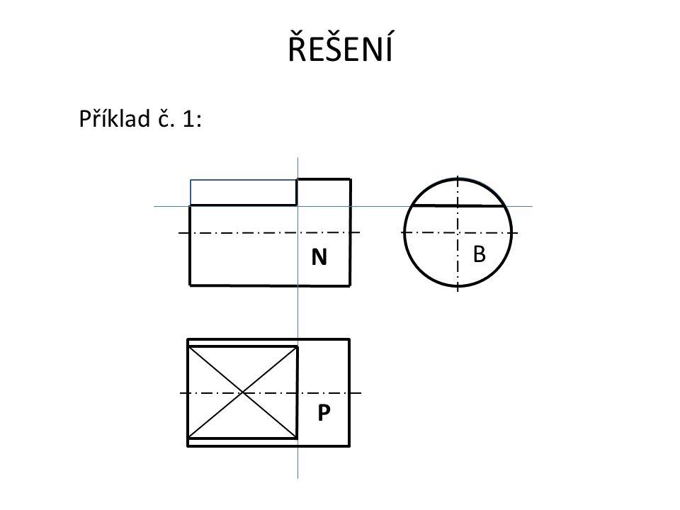 ŘEŠENÍ Příklad č. 1: N B P