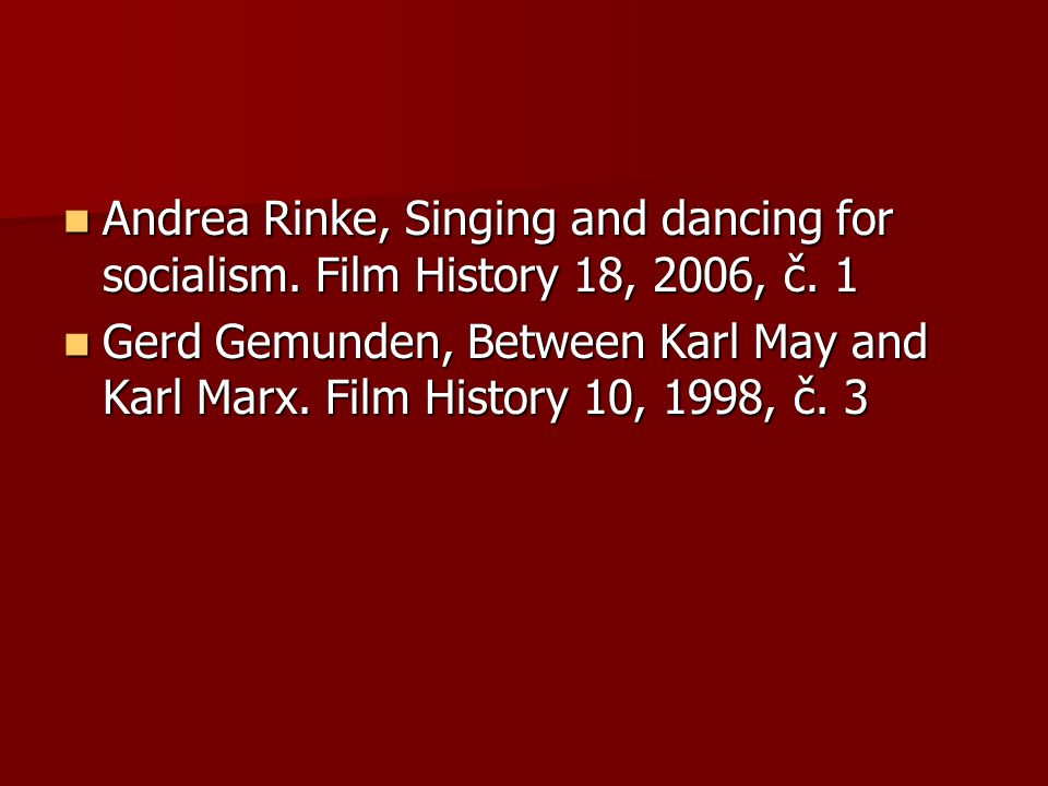 Andrea Rinke, Singing and dancing for socialism