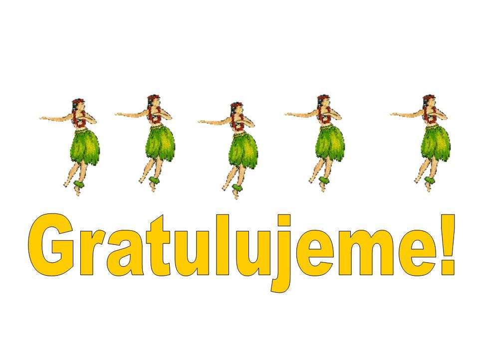 Gratulujeme!