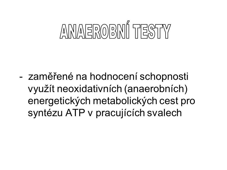 ANAEROBNÍ TESTY