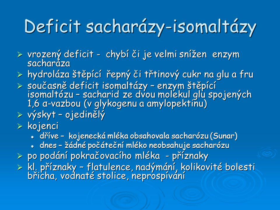 Deficit sacharázy-isomaltázy
